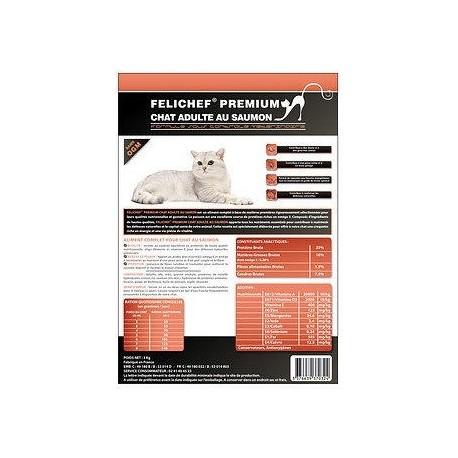 Cat food - Felichef Premium Salmon