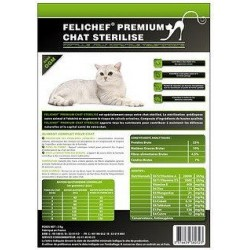 Cat food - Felichef Premium neutered cats