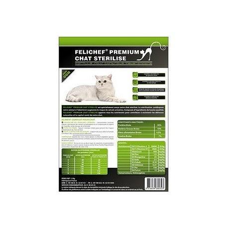 Cat food - Felichef Premium neutered cats