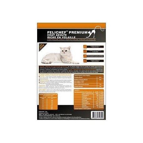 Cat food - Felichef Premium Chicken