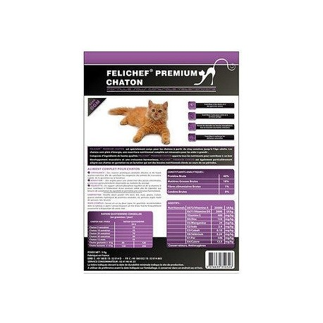 Cat food - Premium Kitten