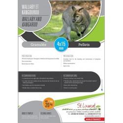 Granulés Kangarou et Wallaby - St Laurent
