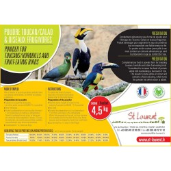Poudre Calaos, Toucans et Oiseaux Frugivores