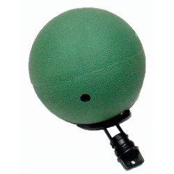Food ball with stopper