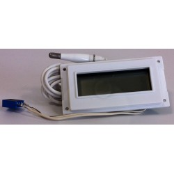 LCD thermometer for brooder
