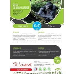 ST LAURENT - New World Primate Pellets
