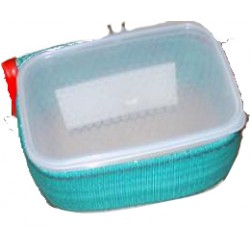 Tray for feeding belt