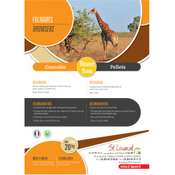 Granulés Folivores - St Laurent