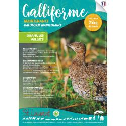 Granulés Galliformes Maintenance