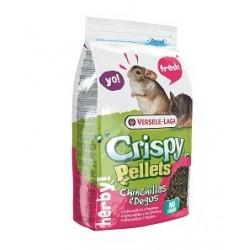 Versele-Laga Chinchilla Dègue Crispy Pellet