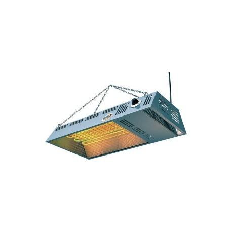 Radiant Inox 2x 400W Thermostatique