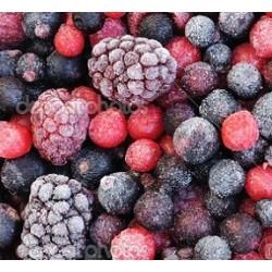 Trio de frutas rojas