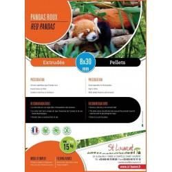 Extrudés Pandas Roux