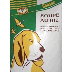 Sopa de Arroz (croqueta + cereales)