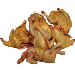 Pollo entero (sin plumas y con visceras)
